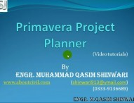 Video Tutorials of Primavera Project Planner 3 (Part 0 of 13) HD